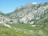 En bas de la vallée, les pozzines de Bastelica