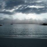 Autre sortie, même plage, mauvais temps au réveil...