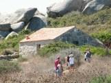 Une cabane de berger.