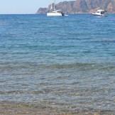 Sur la plage à Girolata