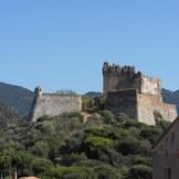 Le fort sur les hauteurs de Girolata