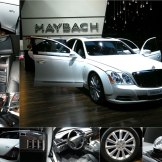 Maybach, la voiture la plus chère du salon (environ 500 000€)