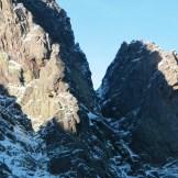 La découpe des montagnes