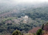Vue sur le hameau de Teghje