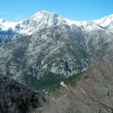 Jolie vue sur le massif de l'Oriente