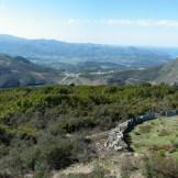 L'aghja de « Petra Martinello » nous offre une belle vue sur la plaine du Nebbiu et le golfe de Saint-Florent à droite