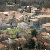 Le centre du village, avec son église.