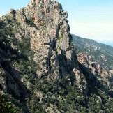 Les rochers sur les Calanches de Piana