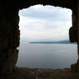 Vue depuis la fenêtre de la tour