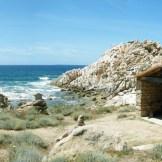 La chapelle devant la plage