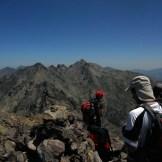 Deuxième sommet face au Monte Cintu