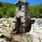 La fontaine au lac de Nino