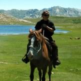 Lisa Carlotti, éco-garde à cheval