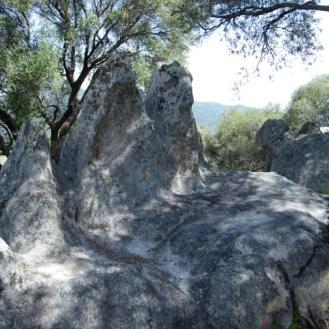 Des rochers drôlement sculptés
