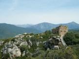 Vue sur les ruines de Capigliolu
