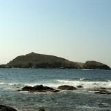 Vue sur l'îlot de Capense