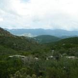 Vue sur Fromontica, hameau de Saint-Florent