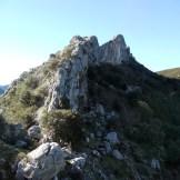Le site d'escalade de Caporalinu