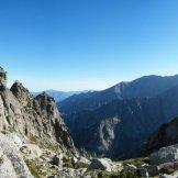 Vue sur la vallée de Riviseccu
