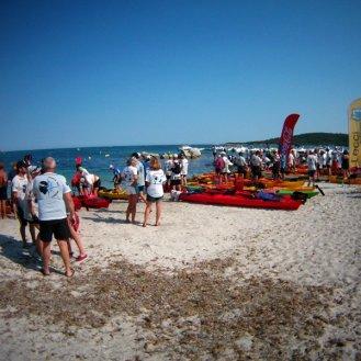 Première étape Kayak