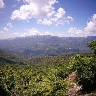 Au dessus de Bastelica