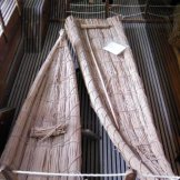 Ils utilisaient le palmier nain, le jonc, l'asphodèle et autres plantes pour tisser des objets courrants