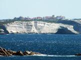 Vue sur Bonifacio