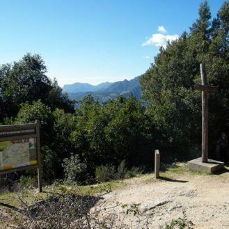 Départ du chemin à Carbuccia