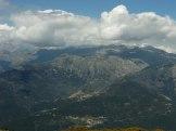 Vue sur la vallée du Cruzini