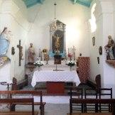 Dans l'église de Muna