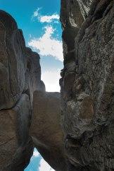 Le toit de la grotte