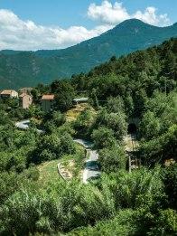 Vue sur Venaco