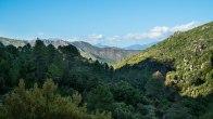 Vue sur la vallée du Vechjo