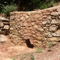 La façade d'un autre four restauré