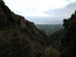 Vue depuis la Cascade de l'Ucelluline