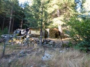 Des bergeries en ruines