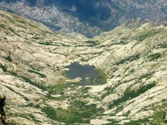 Le lac de l'Oriente