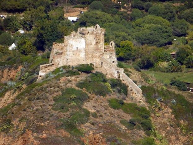 Le château de Girolata