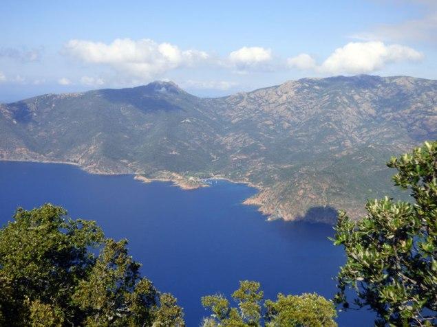 Vue sur Girolata
