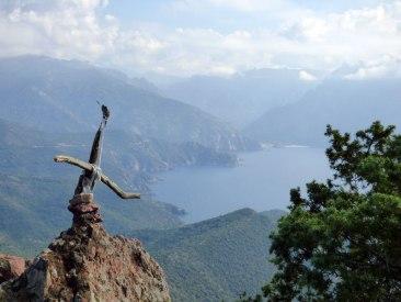 Au sommet de la Punta Castellacciu