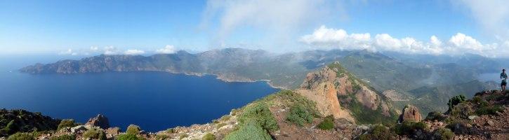 Panorama au sommet du monte Senino