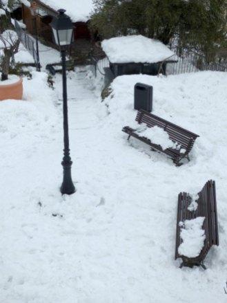Corte a été très touché par les chutes de neige
