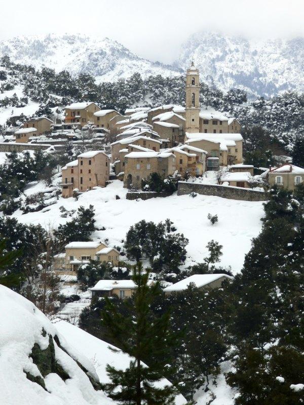 Soveria sous la neige