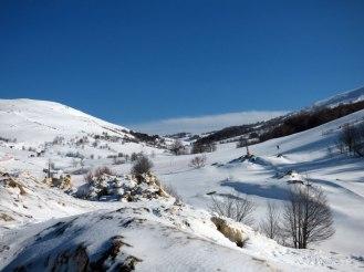 Arrivée au Val d'Ese