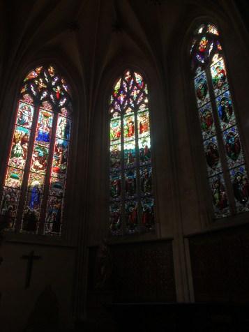 Dans l'église Saint-Pierre