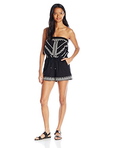Angie Junior's Embroidered Romper