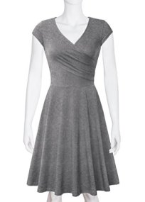 Laksmi Elegant Dresses Womens Casual Dress A Line Cap Sleeve 3