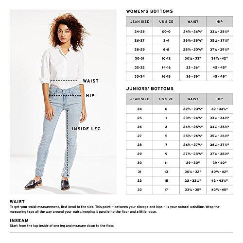 Levi's Women's 525 Perfect Waist Straight Jeans 4