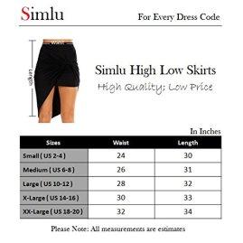 Simlu Womens Drape 3