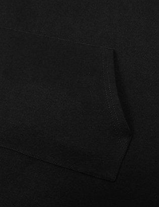 Miusey Womens Long Sleeve V Neck Asymmetric Tunic Hoodie 5